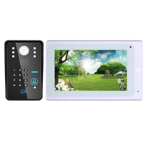 1000TVL Remote Control Wireless Password Doorbell Video Phone Night Vision Intercom System IR LEDs WIFI Indoor Monitor Door Bell