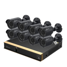 Load image into Gallery viewer, MOVOLS kit CCTV 8 Camera 2mp Outdoor Surveillance Kit IR Security Camera Video Surveillance System 8ch DVR Kits