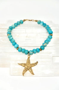 Statement Starfish Necklace