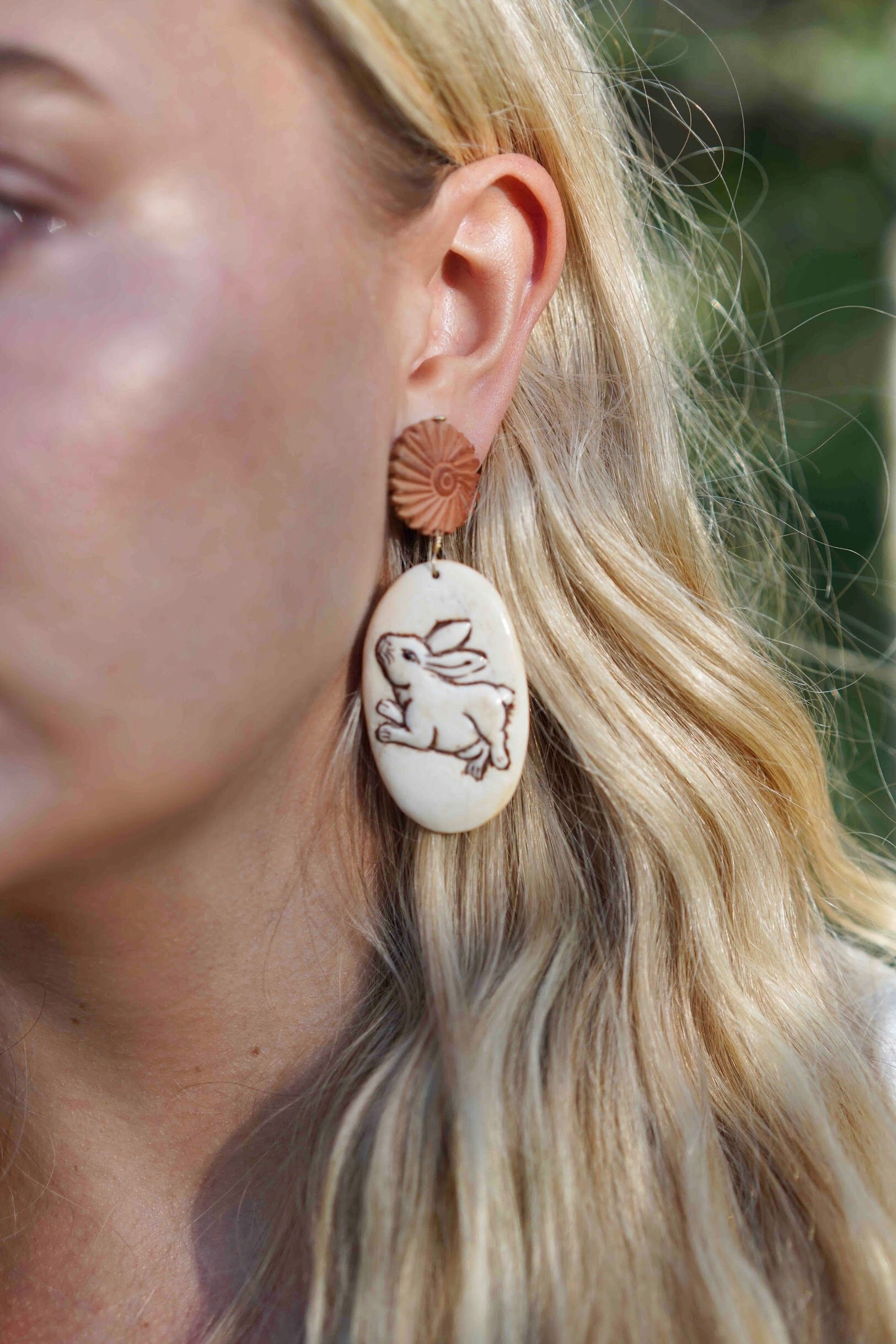 Year of the Rabbit Earrings