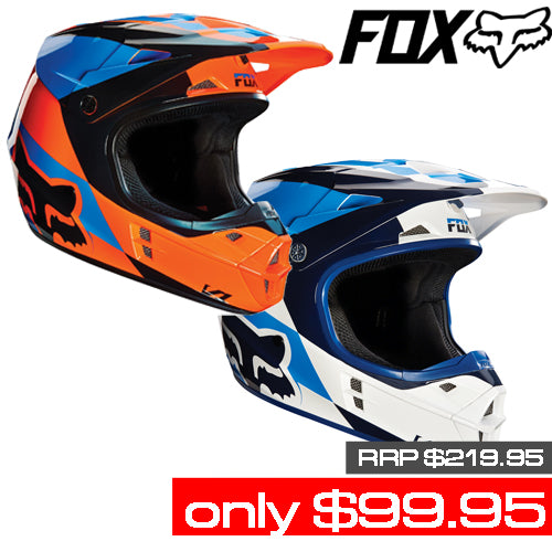 FOX V1 MAKO HELMETS FOR $99.95