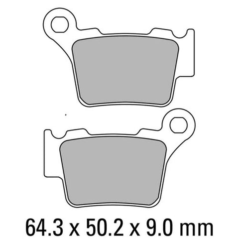 Ferodo - KTM/Husky Sintered Metal Rear Disc Pads