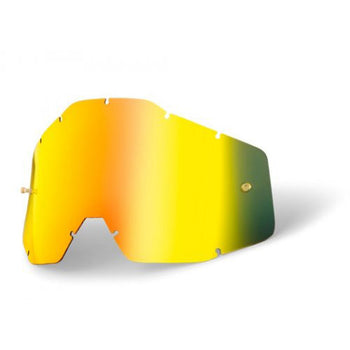 100% - Youth Gold Iridium Goggles Lens