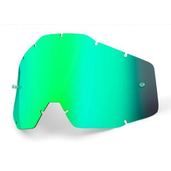 100% - Youth Green Iridium Goggles Lens