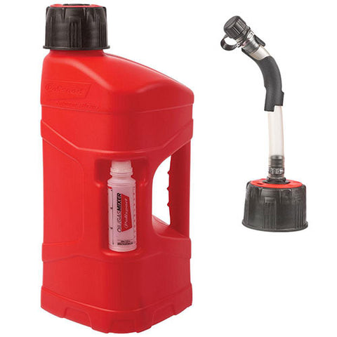 Polisport - 10 Litre Pro Octane Fuel Can With Hose