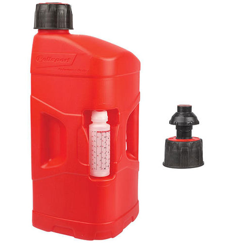 Polisport - 20 Litre Pro Octane Fuel Can With Quick Fill