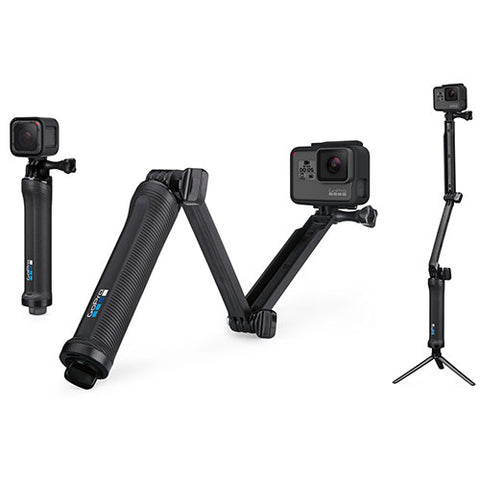 Go Pro - 3-Way Grip, Arm, Tripod