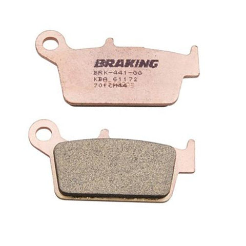Braking - Kawasaki/Honda Sintered Metal Rear Disc Pads