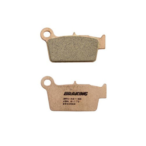 Braking - Yamaha/Suzuki/Kawasaki Sintered Metal Rear Disc Pads