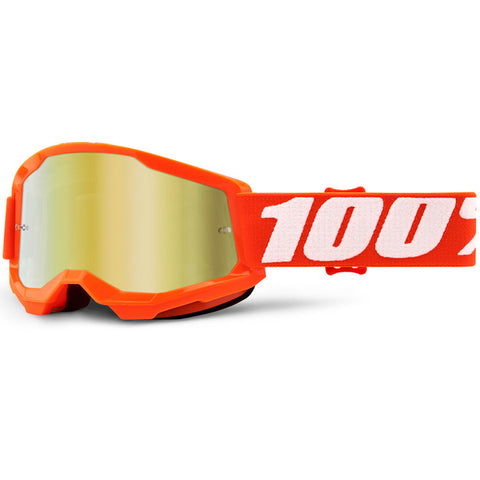 100% - Youth Strata 2 Mirrored Goggles