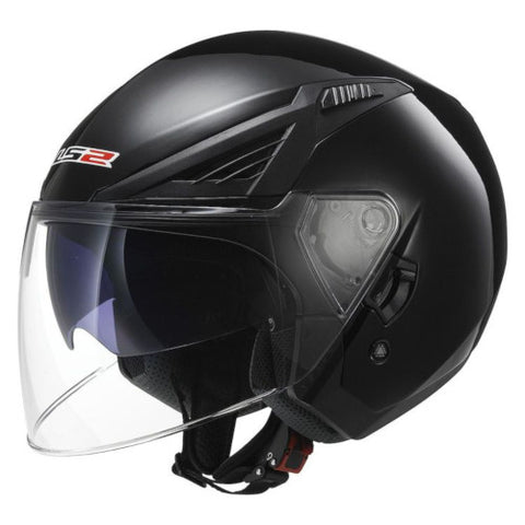 LS2 - Bishop Scooter Solid Helmet