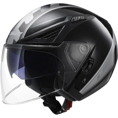 LS2 - Bishop Scooter Atom Helmet