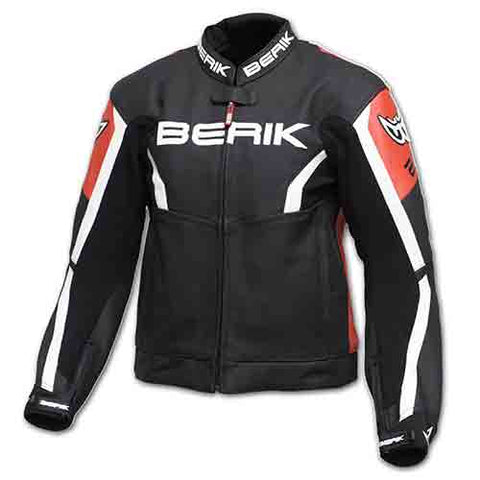 Berik - Chiffre Perforated Leather Jacket