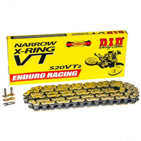 DID - 520 ERVT2 Narrow X-Ring Chain - 120L