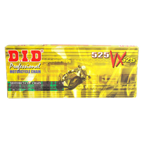 DID - 525 ZJ X-Ring Pro-Gold Chain - 124L