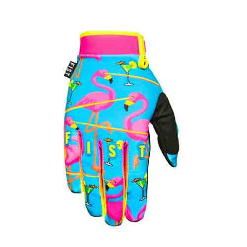 Fist - Youth Lazered Flamingo Strapped Gloves