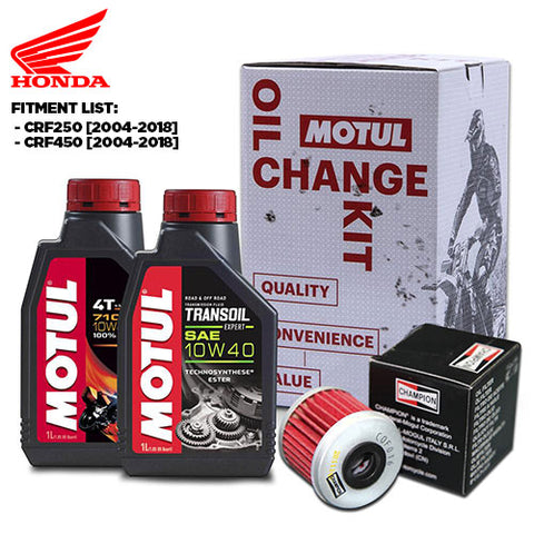 Motul - Honda MX Oil Change Kit (4306062213197)
