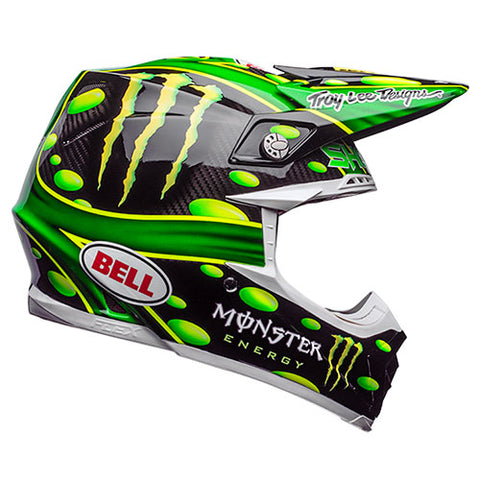 Bell - Moto 9 Flex MC Monster Replica Helmet