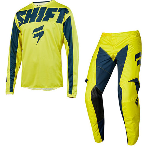 Shift - 2019 Youth Whit3 Label York MX Combo