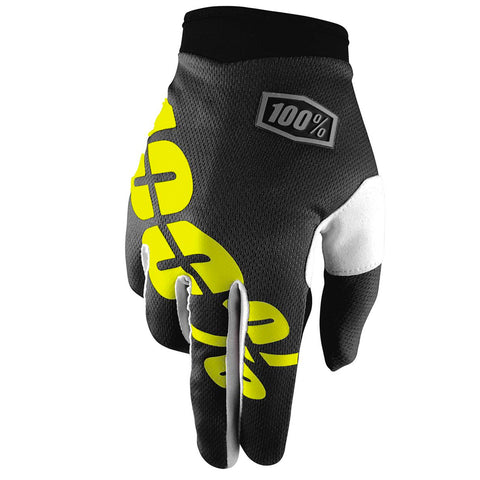 100% - 2017 Youth iTrack Gloves