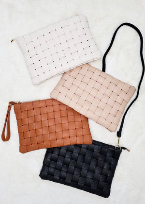 Woven Clutch to Crossbodys