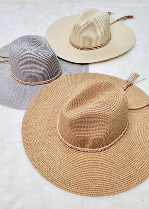 Braided Tassel Sun Hats