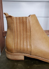 Pleated Detail Booties - 2 Colors!