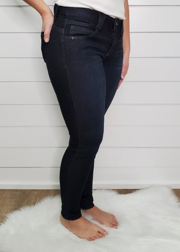 Democracy Ab Solution Booty Lift Dark Wash Jeggings