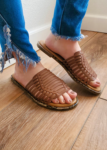 Blowfish Woven Sandals - 2 Colors!