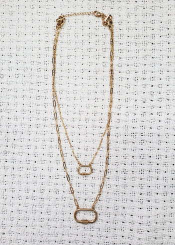 Lauren's Fave Gold Layered Convertible Necklace