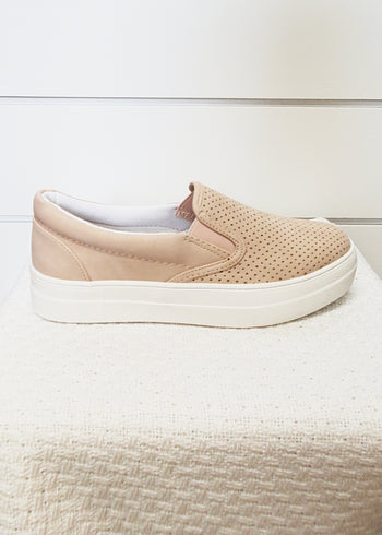 Emmy Dusty Mauve Cushioned Sneaker