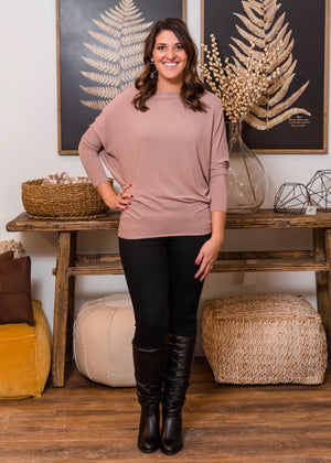 Must Have Dolman Top - Mauve