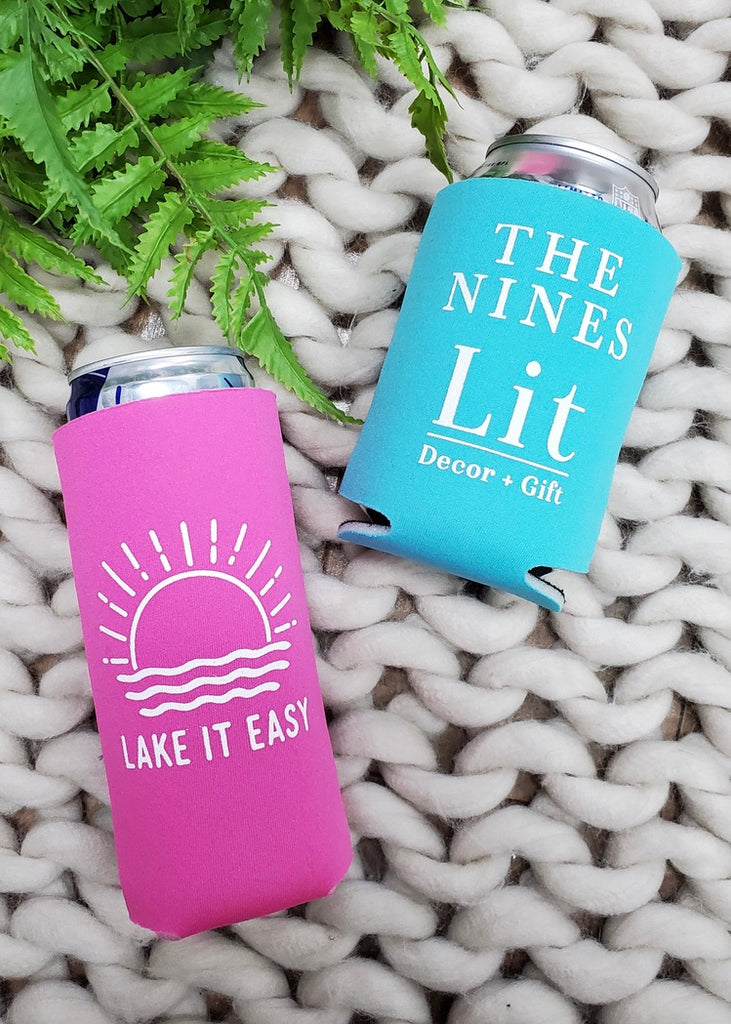 Lake It Easy Coozies - 2 Styles!