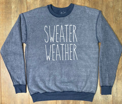 Sweater Weather Inverted Sweatshirt