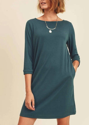 Deep Ocean Pocket Dress