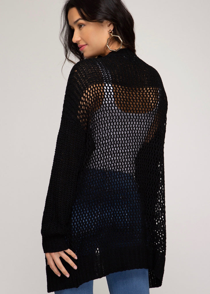 Netted Cardigans
