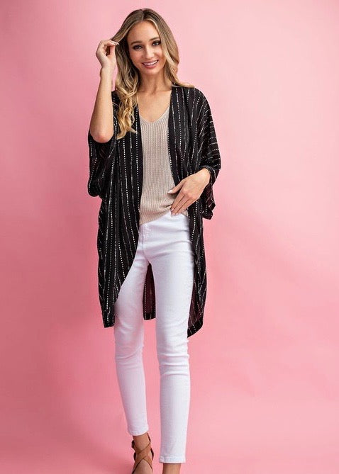 Dotted Striped Kimonos