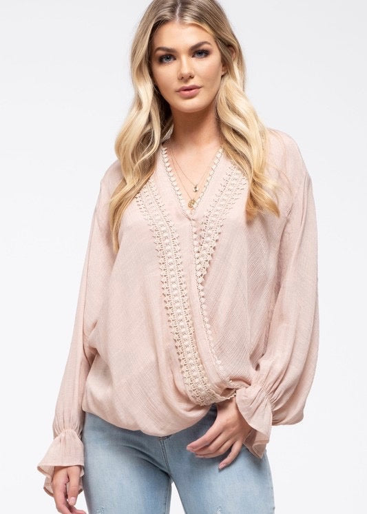 Blush Crochet Top