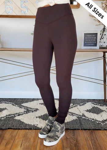 Butter Yoga Waist Leggings