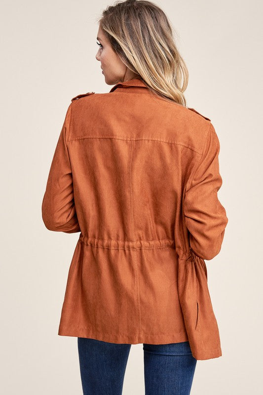 Clay Button Jacket