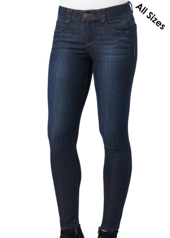 Democracy Dark Indigo Ab Solution Booty Lift Jeggings