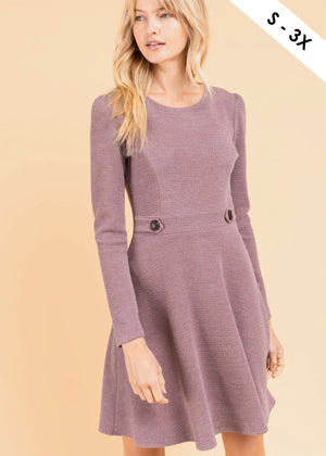 Dusty Mauve Dress