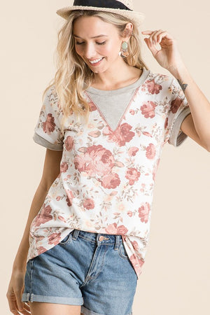 Time to Bloom Tee