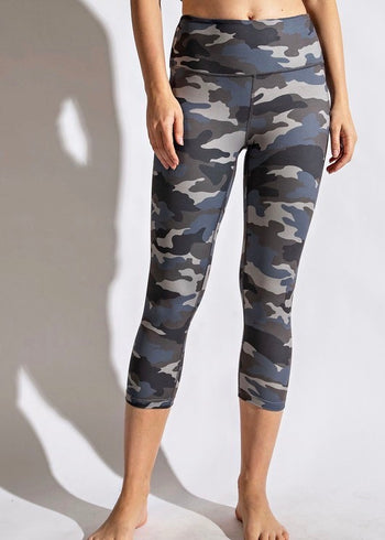 NINES Cropped Butter Leggings - 4 Colors!