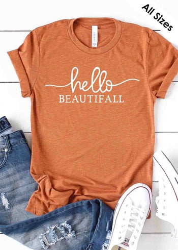 Hello Beautifall Tee