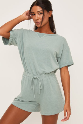 The Everyday Soft Basic Rompers - 2 Colors!