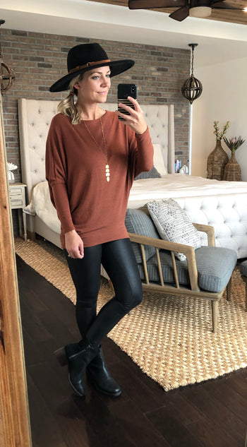 Must Have Dolman Tops - 4 Colors