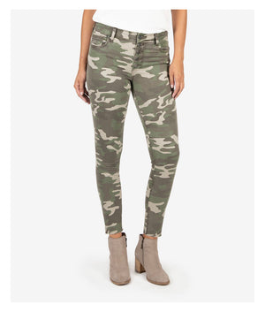 Camo Kut From The Kloth High Rise Ankle Skinny