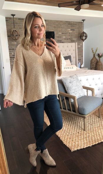 Bell Sleeve Sweaters