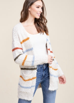 Striped Super Soft Cardigan